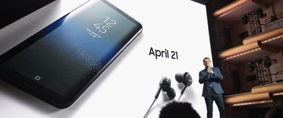 سامسونغ تزيح الستار عن هاتف إس 8.. وهذه مواصفاته