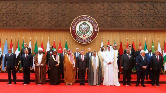 قادة العرب يؤكدون مساندتهم للتحالف العربي لدعم الشرعية في اليمن