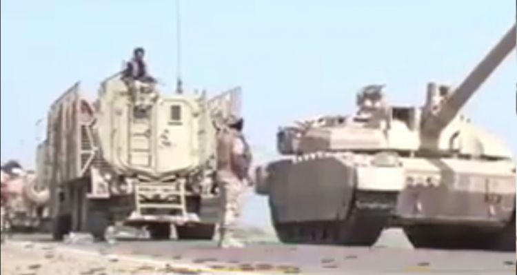 السعودية تدفع بتعزيزات عسكرية ضخمة إلى اليمن