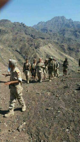 الجيش الوطني يسيطر على منطقة الجبيل في تعز