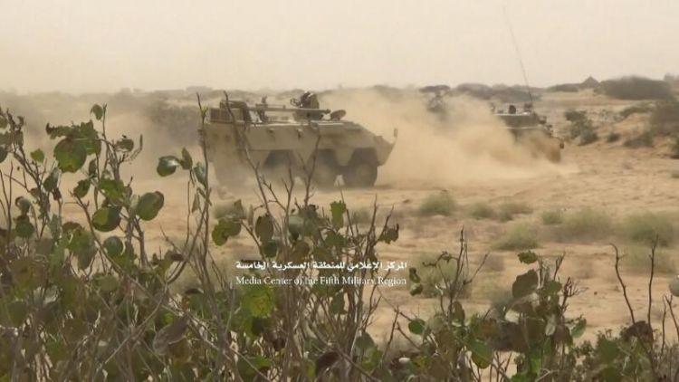 حجة: الجيش الوطني يحرز تقدما جديدا ويصل مشارف مديرية حيران
