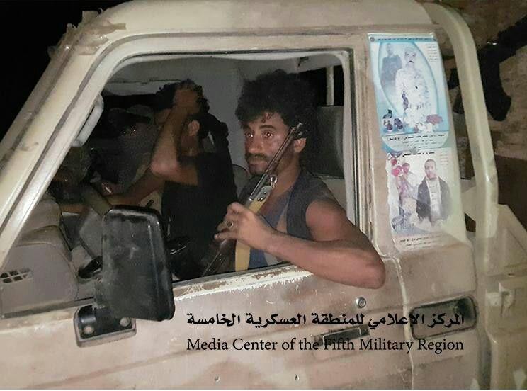ميدي: كان يعتقد ان الموقع لا زال تحت سيطرة المليشيا.. طقم حوثي يقع في قبضة الجيش الوطني (صور)