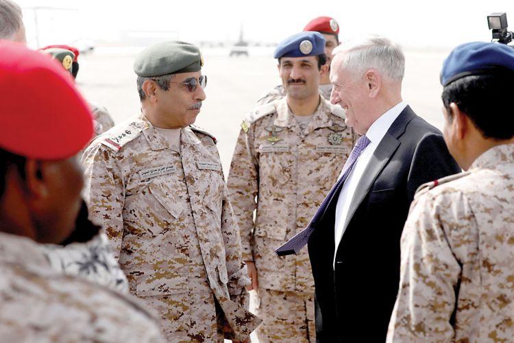 وزير الدفاع الامريكي: يجب وضع حد للصواريخ التي يقدمها الإيرانيون للحوثيين