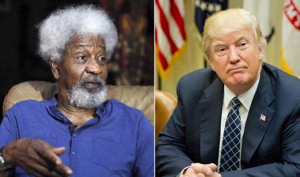 الأديب النيجيري وولي سوينكا يغادر أميركا بسبب ترمب