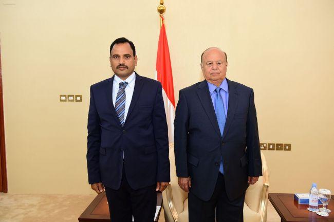 محافظ سقطرى يصف قرارات الرئيس هادي بأنها تلبي طموحات المواطنين