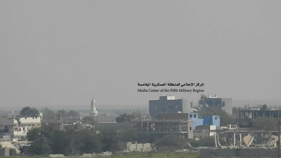 عملية نوعية للجيش الوطني في ميدي تتسبب بمقتل وجرح العشرات من الحوثيين ( صور )