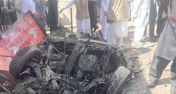 قتلى وجرحى في انفجار شمال غرب باكستان