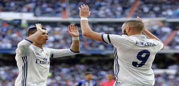 ريال مدريد يكتسح ألافيس ويحافظ على صدارة الدوري الاسباني