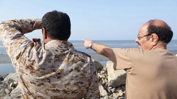 """نائب رئيس الجمهورية يطلع على سير المعارك في المنطقة العسكرية الخامسة """"صور"""""""