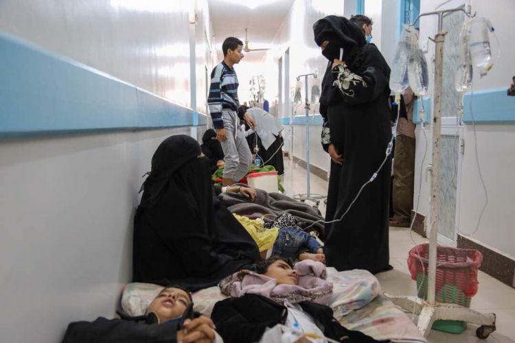 الصحة العالمية تعلن عن عدد هائل من الوفيات جراء وباء الكوليرا في اليمن