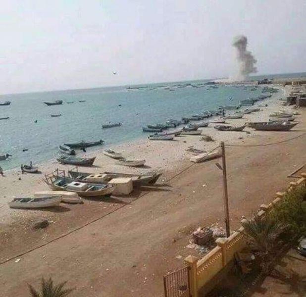 تجدد المعارك في مدينة المخاء ومصرع 12 حوثيا وإصابة 18 آخرين