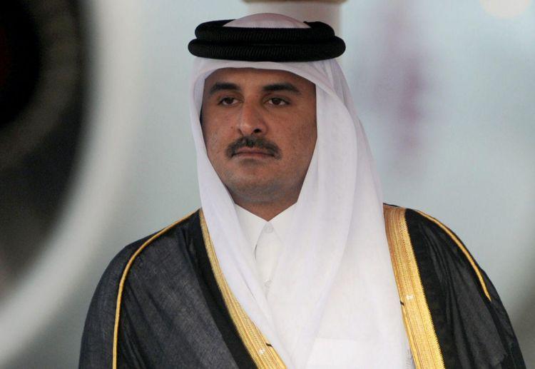 قطر تنفي تصريحات على لسان اميرها وسرعة نشر العربية وسكاي نيوز للتصريحات تثير الريبة!!