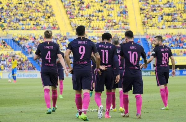 بقيادة نيمار .. برشلونة يحقق الانتصار على لاس بالماس