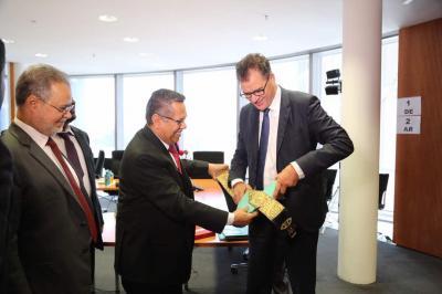 رئيس الوزراء يلتقي وزير التنمية و التعاون الدولي الألماني
