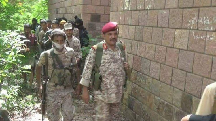 قائد محور تعز: القصر الجمهوري يقترب من يد الأبطال