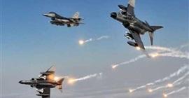 مقاتلات التحالف تقصف مواقع مليشيا الحوثي في صعدة