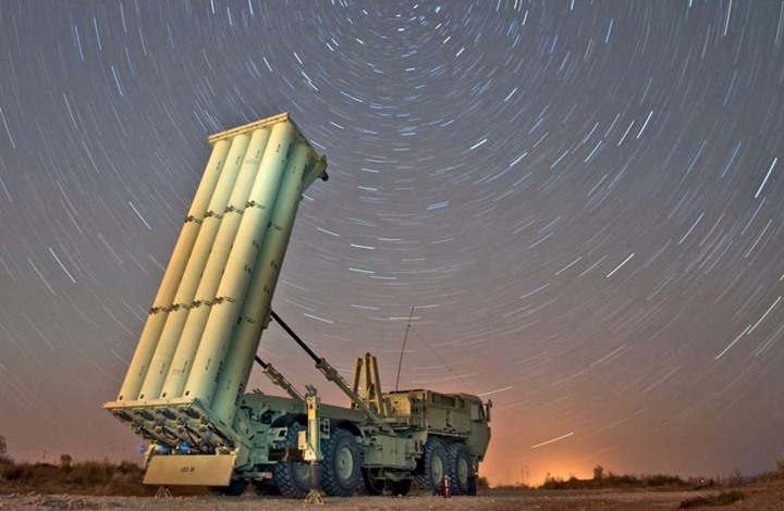 """بالإنفوجرافيك… تعرّف على صاروخ """"ثاد"""" المضاد للصواريخ البالستية؟"""