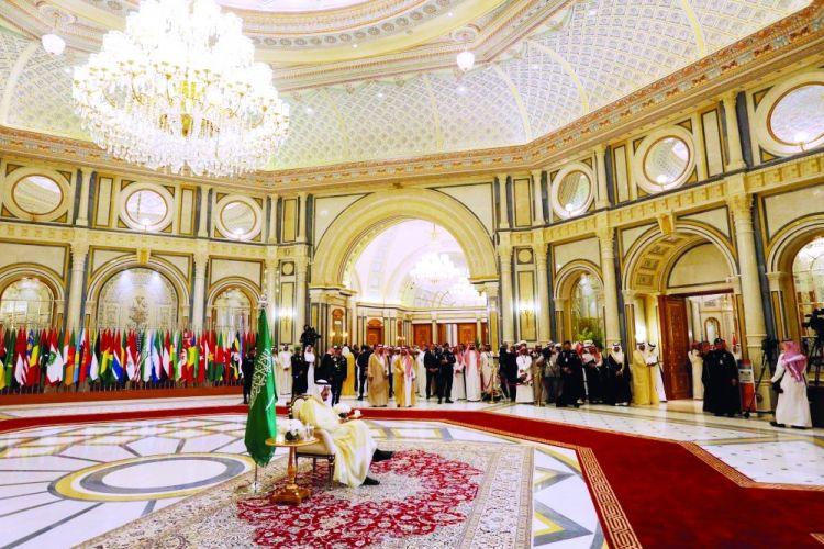 إعلان الرياض دعم الخطاب الوسطي وتكريس التسامح.. ورفض العبث الإيراني