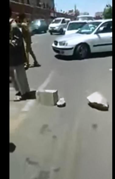 احتجاجات لمنتسبي وزارة الداخلية بصنعاء