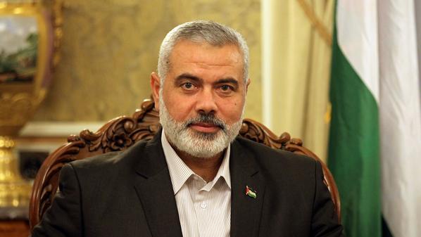 """""""هنية"""" يرئس المكتب السياسي لحركة حماس خلفا لمشعل"""