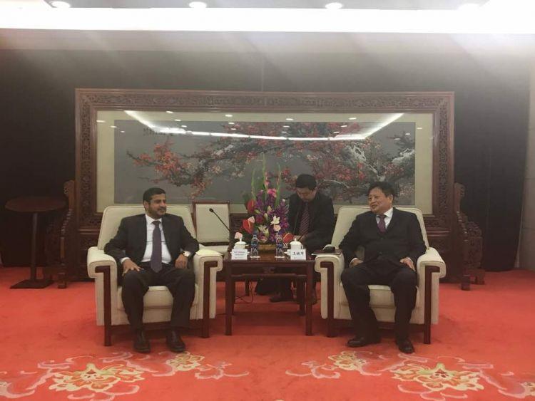 الصين تبدي استعدادها للاستثمار في تطوير مصافي عدن ومارب