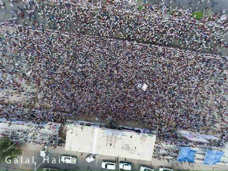 بيان هام من المجلس الاعلى للحراك الجنوبي يحيي فيه الحشود ويؤكد ان المجلس الانتقالي هو امتدادا للمد الشيعي في الجنوب