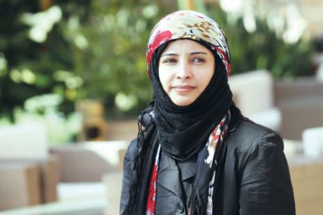 """الكاتبة اليمنية بشرى المقطري تفوز بجائزة """"حسين العودات للصحافة العربية"""""""