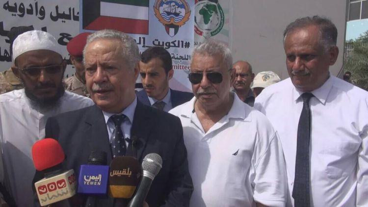 """المفلحي """" ان يوم الخميس ستشهد مدينة عدن حالة من التحسن في قطاع الكهرباء"""""""