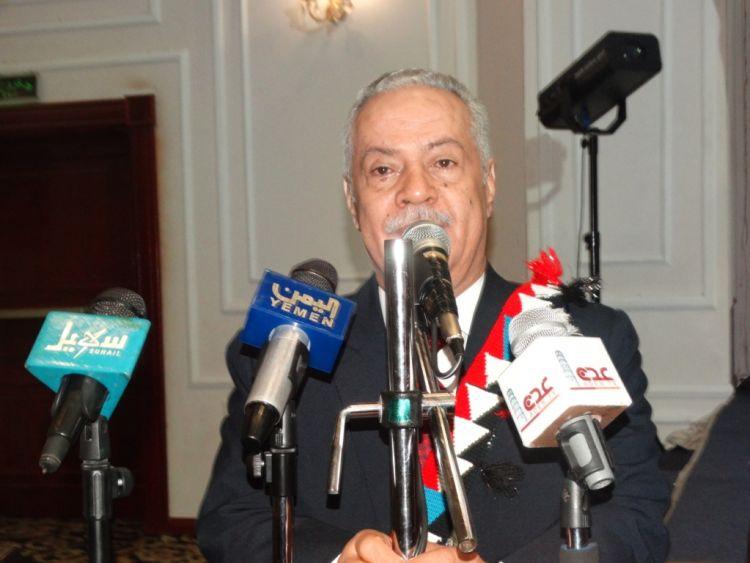 المحافظ عبدالعزيز المفلحي يتحدث في ذكرى تحرير محافظة عدن من الانقلابيين