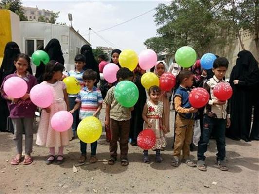 أطفال يناشدون مليشيا الحوثي في صنعاء إطلاق آبائهم قبيل العيد