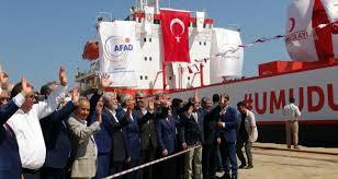 الهلال الاحمر التركي يستعد لإرسال سفينة مساعدات الى اليمن