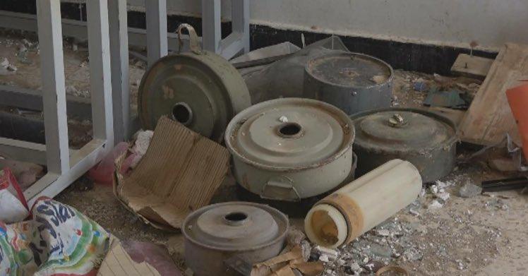 """قوات الجيش الوطني تحرر مدرسة حكومية في صرواح حولتها المليشيات إلى معمل تصنيع للألغام """" صور"""""""