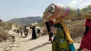 المليشيات الإنقلابية تواصل تهجيرها لسكان قرى في جبل حبشي غرب تعز