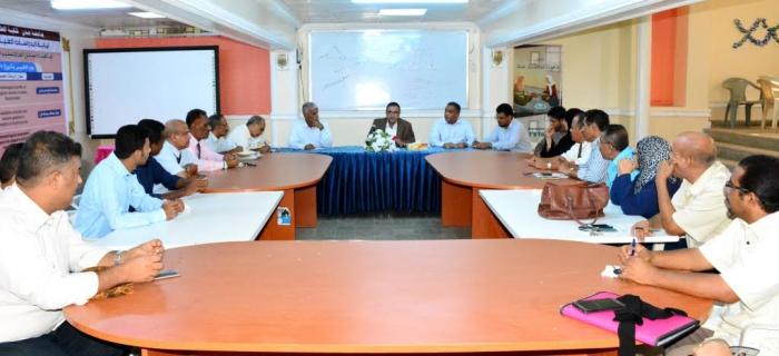 جامعة عدن تدشن مشروع التصحيح الإلكتروني لامتحانات القبول للعام الجامعي القادم