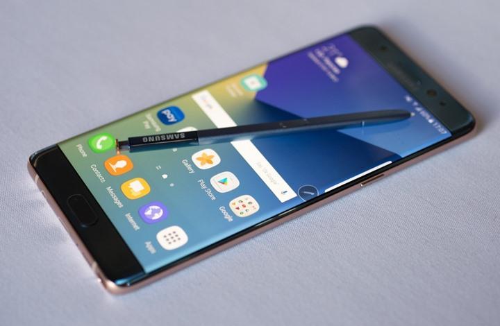سامسونج تكشف عن تطرح نسخة معدلة من هاتف نوت 7 في كوريا الجنوبية