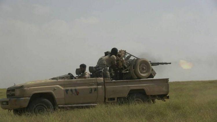 قوات الجيش الوطني تواصل التقدم في مديرية عبس بحجة