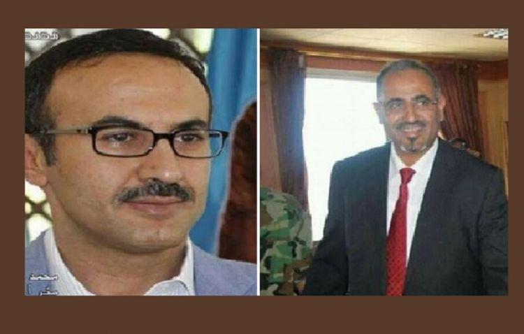 """الكشف عن مشروع اتفاق بين """"احمد علي صالح"""" و""""عيدروس الزبيدي"""" لتقسيم اليمن برعاية اماراتية """"تفاصيل خطيرة"""""""