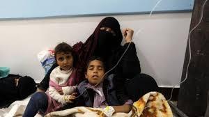 منظمة الصحة العالمية : ارتفاع ضحايا الكوليرا في اليمن الى 1759حالة