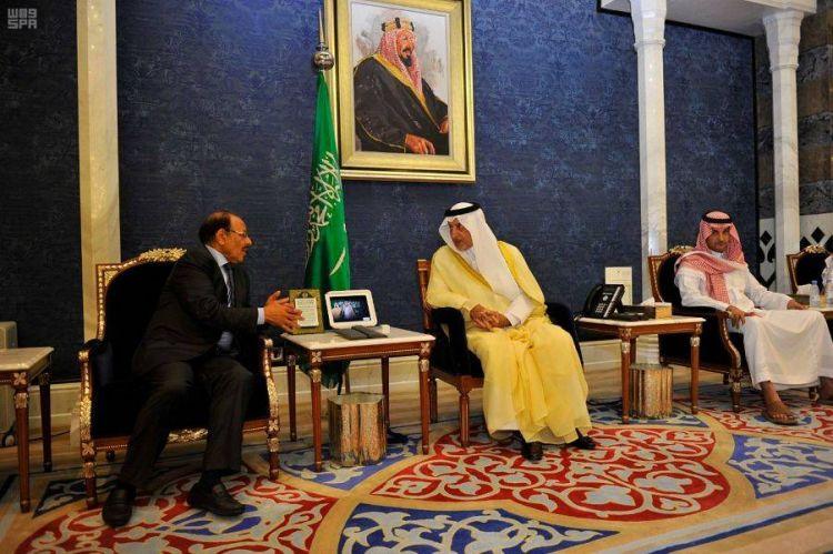 نائب رئيس الجمهورية يقدم واجب العزاء في وفاة الأمير عبدالرحمن بن عبد العزيز