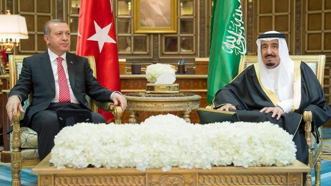 اردوغان يصل جدة في جولته الخليجية