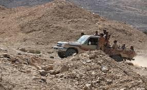 قوات الشرعية تشن هجوم على مواقع المليشيات شمال لحج