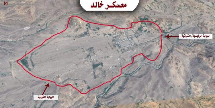 معسكر خالد في قبضة الشرعية، والرئيس هادي يبارك انتصارات الجيش الوطني