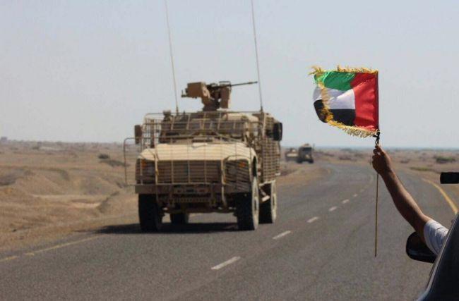 هام… قائد القوات الإماراتية في حضرموت يهاجم الشرعية ويعد المتمردين عليها بمزيد من الدعم