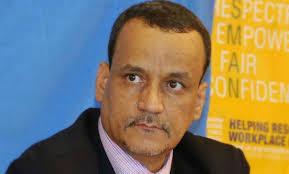 ولد الشيخ يصل الاردن في جولة جديدة لإحياء مشاورات السلام في اليمن