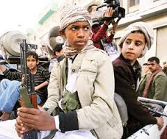 مليشيا الحوثي والمخلوع تجند الأفارقة والأطفال لتعويض نقص مقاتليها