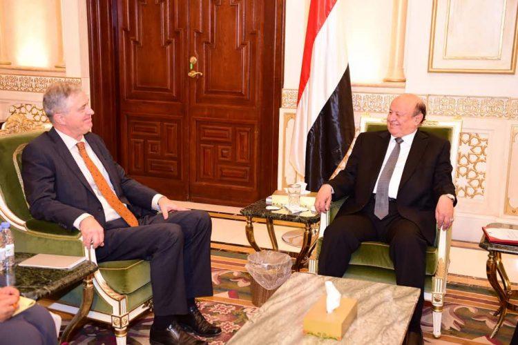 رئيس الجمهورية يستقبل السفير الهولندي لدى اليمن