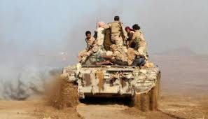 وكيل محافظة الجوف يتفقد جبهات القتال في مديرية المتون