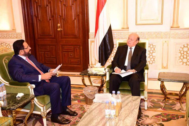 رئيس الجمهورية يوجه بتنفيذ مشاريع عملاقة في محافظة مأرب!!