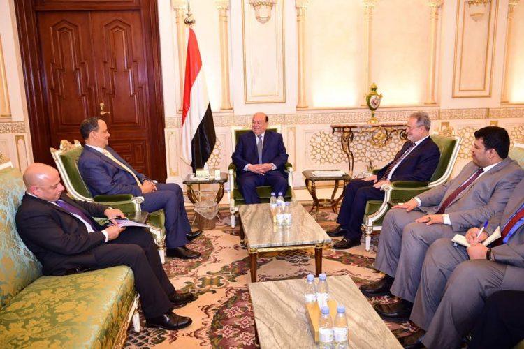 الرئيس هادي يشيد بجهود الامم المتحدة لمساعدة الشعب اليمني