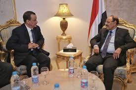 نائب رئيس الجمهورية يلتقي بولد الشيخ لمناقشة الجهود المبذولة لإحلال السلام واستئناف العملية السياسية